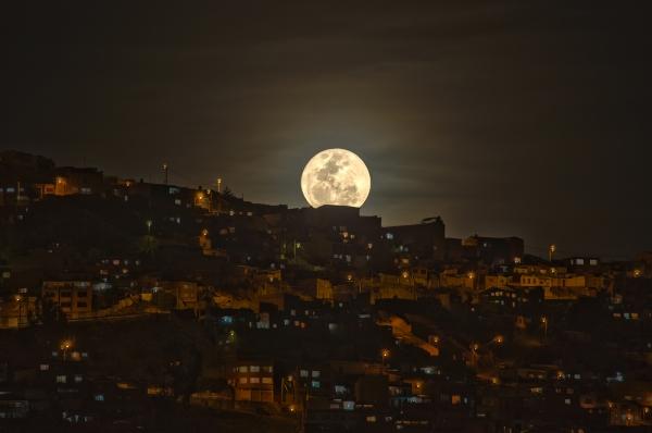 Súper Luna en La Paz